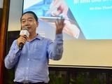 Ông Đào Thanh Tú, Phó Tổng giám đốc Công nghệ Thông tin của Prudential chia sẻ tại hội thảo về chuyển đổi số tối 6/3