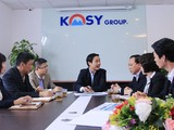 Một buổi họp của CTCP KOSY. (Ảnh: Kosy)
