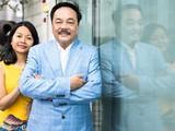 Ông Trần Quí Thanh cùng con gái, Trần Uyên Phương.