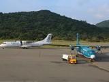 Kite Air chọn các đường bay ngách, giá còn cao như TPHCM-Côn Đảo, Hà Nội-Điện Biên... để đề xuất khai thác. Trong ảnh là một góc sân bay Côn Đảo. Ảnh: TTXVN