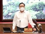 Ông Nguyễn Văn Phong - Phó Bí thư Thành ủy Hà Nội (Ảnh- Thành Uỷ HN)