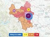 Bản đồ dịch tại Hà Nội