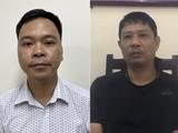 Bị can Võ Việt Hùng (trái) và bị can Bùi Quốc Việt (phải). Ảnh: Bộ Công an