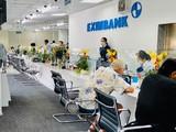 Eximbank Vạn Hạnh (Tp. HCM) tạm đóng cửa vì tiếp khách hàng nhiễm COVID-19 (Nguồn: Eximbank)