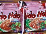 Sản phẩm mì ăn liều Hảo Hảo của Acecook Việt Nam