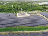 Dự án nhà máy điện mặt trời Hậu Giang (Nguồn: HID)