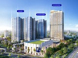 Phối cảnh tổng thể dự án Charm City Bình Dương (Nguồn: DCT Group)