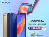 điện thoại thông minh Honor 8A vừa giới thiệu phân khúc phổ thông