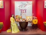 Gian hàng Tết Miền Bắc được mang vào Lễ hội Tết Việt