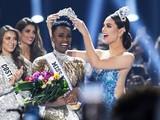 Tân Hoa hậu Hoàn vũ thế giới 2019 trong khoảnh khắc đăng quang