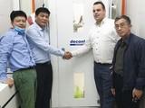 Bệnh viện đa khoa Quảng Ninh tiếp nhận tài trợ của ca sĩ Hà Anh Tuấn (Ảnh do Hà Anh Tuấn cung cấp)