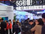 Giới thiệu mạng 5G tại Hội nghị 5G thế giới 2019 ở Bắc Kinh, Trung Quốc. Ảnh: TTXVNN
