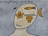 Thơ Thiền của Tuệ Trung Thượng Sỹ (Ảnh: Gallery39a Lý Quốc Sư cung cấp)