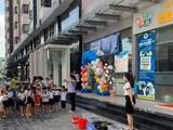 Trường Mầm non Kid's cơ sở chung cư Him Lam (Quận 9) bị đình chỉ hoạt động sau khi có nhiều trẻ ngộ độc (Ảnh: Fb nhà trường)