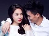 Thuỷ Tiên, Công Vinh - cặp đôi đẹp song hành cùng nhau (Ảnh: FBNV)