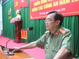 Đại tá Đoàn Minh Lý, Giám đốc Công an tỉnh Vĩnh Long (Ảnh: BCA)