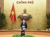 Thủ tướng Nguyễn Xuân Phúc chủ trì cuộc họp. Ảnh- VGP