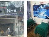 """Bên dưới là quán cà phê, bên trên là cơ sở thẩm mỹ """"chui"""" (Ảnh: SYT)"""