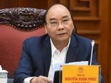 Thủ tướng Chính phủ Nguyễn Xuân Phúc chỉ đạo, cần tiếp tục quyết liệt trong công tác kiểm tra (Ảnh: VGP)