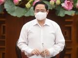 Thủ tướng phê bình Vũng Tàu và nhiều địa phương chưa làm nghiêm vụ đeo khẩu trang phòng dịch - Ảnh: Chính phủ