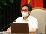 Phó Thủ tướng Vũ Đức Đam chỉ đạo TP.HCM xem xét việc cấp mã QR Code cho người đã có kết quả xét nghiệm. Nguồn: Báo Chính phủ