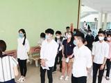 Thí sinh dự thi tốt nghiệp - Ảnh: Vietnam Plus