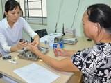 Bệnh nhân tới khám tại trung tâm y tế tỉnh