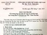 Báo cáo nhanh của Sở Y tế tỉnh Yên Bái về trường hợp sản phụ thiệt mạng sau khi mổ đẻ bằng phương pháp gây tê tủy sống.