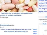 Thông tin về thuốc Alphachymtrysin của Công ty Cổ phần Dược phẩm Đồng Nai.
