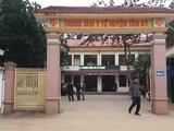 Trung tâm y tế huyện Tân Kỳ, Nghệ An nơi bé B. tới cấp cứu