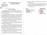Công văn khẩn của Bộ Y tế do Thứ trưởng Nguyễn Trường Sơn ký ngày 22/11.