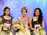 Tân Hoa hậu Đại dương (đứng giữa) bị chê xấu. Ảnh: Trí thức trẻ