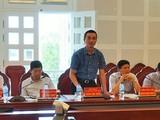 Chánh Thanh tra Bộ TT&TT Đặng Anh Tuấn (người đang phát biểu) vừa bị khởi tố, tạm giam để điều tra.