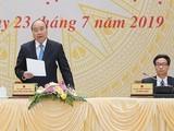 Thủ tướng Nguyễn Xuân Phúc phát biểu tại Hội nghị trực tuyến Ủy ban quốc gia về Chính phủ điện tử.