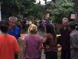 Vụ án mạng kinh hoàng vừa diễn ra sáng nay (1/9) tại huyện Đan Phượng - Hà Nội.