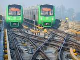 Dự án đường sắt Cát Linh - Hà Đông chậm tiến độ, đội vốn, gây bức xúc dư luận.