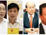 Các ông: Nguyễn Hồng Trường, Nguyễn Ngọc Đông, Nguyễn Văn Công, Nguyễn Nhật (từ trái qua).