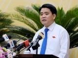 Chủ tịch UBND TP. Hà Nội Nguyễn Đức Chung.