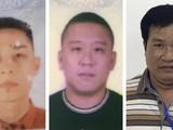 3 bị can bị khởi tố gồm: Mai Tiến Dũng (áo đỏ), Nguyễn Bảo Trung (áo đen) và Phạm Văn Hiệp (áo kẻ ngang). Ảnh: BCA.