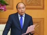 Thủ tướng vừa quyết định công bố dịch virus Corona tại Việt Nam. Ảnh: VGP