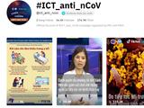 Kênh TikTok chia sẻ thông tin từ Bộ Y tế về dịch COVID-19. Ảnh chụp màn hình: Anh Lê.