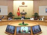 Thủ tướng Nguyễn Xuân Phúc chủ trì cuộc làm việc với các tập đoàn kinh tế tư nhân - Ảnh: VGP