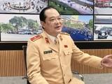 Thiếu tướng Lê Xuân Đức, Phó Cục trưởng Cục CSGT khẳng định việc triển khai nộp phạt vi phạm hành chính trong lĩnh vực giao thông qua Cổng dịch vụ công Quốc gia tạo thuận lợi cho người dân và của chính các cơ quan nhà nước. Ảnh: CSGT.