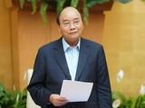 Thủ tướng Nguyễn Xuân Phúc phát biểu tại Hội nghị. Ảnh: VPCP.