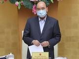 Thủ tướng Nguyễn Xuân Phúc yêu cầu thực hiện cách ly toàn xã hội trong vòng 15 ngày kể từ 0h ngày 1/4/2020 trên phạm vi toàn quốc. Ảnh: VPCP.