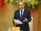 Thủ tướng Nguyễn Xuân Phúc phát biểu kết luận phiên họp Ủy ban quốc gia về Chính phủ điện tử.