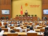 Quốc hội khóa XIV nước Cộng hòa xã hội chủ nghĩa Việt Nam khai mạc trọng thể Kỳ họp thứ 11 tại Nhà Quốc hội, Thủ đô Hà Nội.