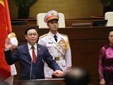 Chủ tịch Quốc hội tuyên thệ nhậm chức.