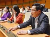 Quốc hội sẽ phê chuẩn việc bổ nhiệm các thành viên Chính phủ bằng hình thức bỏ phiếu kín vào sáng 8/4.