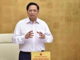 Thủ tướng Phạm Minh Chính nêu rõ việc phục hồi, mở cửa kinh tế phụ thuộc rất lớn vào phòng, chống dịch.